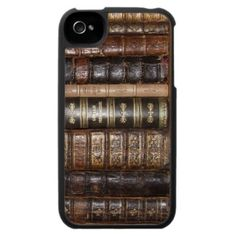 Old Books iPhone 4 Case. I may get an iPhone just for this case!!