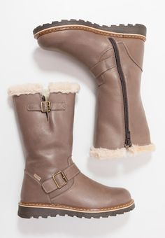 Stiefel - taupe Riding Boots, Biker, Shoes, Fashion, Tall Boots, Welly Boots, Horse Riding Boots, Moda, Zapatos