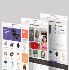 Accessories template by HEZY TEAM, via Behance