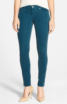 Kut from the Kloth - just got a pair of these in my Stitch Fix box. Dark green corduroy skinnies - love them!