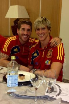 some of my faves. Sergio Ramos and Fernando Torres
