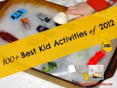 A blog hop featuring over 100 of the best indoor, outdoor and learning activities for kids seen on the internet in 2012.