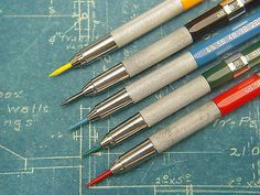 Vintage Universe 200p Mechanical Drafting Drawing Leadholder Pencil Set | eBay