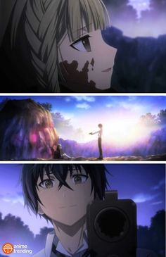 Black Bullet they will always be friends this moment it was jus like so intensely emotional