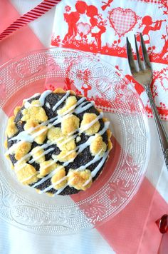 Mohn-Tartelettes mit Streuseln