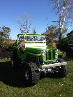 1948 Willys CJ-2A - Photo submitted by Shawn McBurnie.