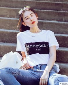 Keep going, keep growing! @modesens_official  Photo by @lunuo @balmainblahhnik @victoriabeckham #lookinggood#modesens#keepgoing #workday#whiteshirt#steetstyle #stylediaries#asseenonme#summerfashion #summertrends #fashionblogger#vogue#highfashion#ontheblog#fashionaddict#fashionblogger#fashionaddicted#oord#whatiwore#whatiworetoday#wearthisnext#lookoftheday#fashiongram#fashionista#fashion#jeans#girlboss#balmain#victoriabeckham from @JingLeng's closet