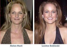 Look Alikes Helen Hunt and Leelee Sobieski