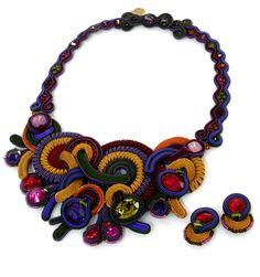 DORI CSENGERI Elektra #necklace from Israel at the 2012 #NYIGF #jewelry #design #fashion