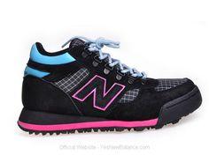 Women's New Balance H710 - Black / Pink / Blue