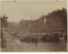 Petit bras de la Seine au Pont Neuf : [photographie] / [Atget] 1898-99