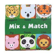 Melissa & Doug Soft Activity Book - Mix and Match Playset