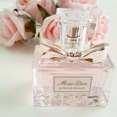 miss dior perfume Perfume Chanel, Miss Dior Blooming Bouquet, Just Girly Things, Perfume Collection, Everything Pink, Smell Good, Pink Aesthetic, Pretty In Pink, Bath And Body