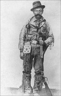 "Jerry Potts aka Ky-yo-kosi, meaning ""Bear Child"" b. 1840 Fort McKenzie, Montana on the Missouri River; d. July 14, 1896 American plainsman, buffalo hunter, horse trader, interpreter, and scout of Anglo-Métis heritage."