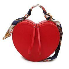 2017 New Summer Limited Sailor Heart-shaped Chain Shoulder Bag Ladies PU Leather Handbag Women Messenger Crossbody Small Bag
