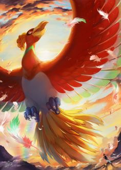 bird cloud cloudy_sky commentary_request dated day feathers flying hat highres ho-oh open_mouth outdoors pikachu pokemon pokemon_(anime) running satoshi_(pokemon) signature sky spread_wings Ho Ho Pokemon, 3d Pokemon, Pokemon Images, Pokemon Fan Art, Pokemon Pictures, Cool Pokemon Wallpapers, Cute Pokemon Wallpaper, Animes Wallpapers, Pokemon Memes
