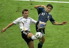 Alemania 1 (4) Argentina 1 (2)(Copa del Mundo Alemania 2006,Estadio Olímpico de Berlín,Berlín,30/06/2006)