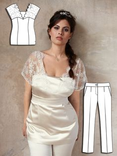 Special Occasion: 8 New Plus Size Sewing Patterns Types Of Dresses, Plus Size Dresses, Plus Size Outfits, Plus Size Sewing Patterns, Clothing Patterns, Burda Patterns, Sewing Clothes, Diy Clothes, Clothes For Women