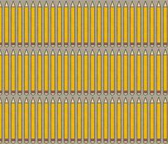 Holli Zollinger pencils linen $18/yd via spoonflower.com