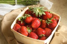 Nova Scotia Strawberries - nothing tastes better.  Well, maybe chocolate.