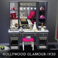 hollywood vanity table