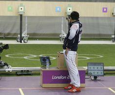 London Olympics Shooting Men