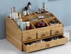 Baboo Makeup organizer Jewelry box wooden storage