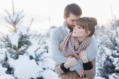 Amy & Nick // love - Utah winter engagement Courtney Beck Photography http://www.courtneybeckblog.com