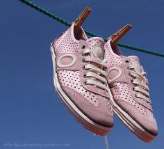 Aro Picada pisadas pink