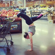 Take your yoga practice off the mat and to the mart!