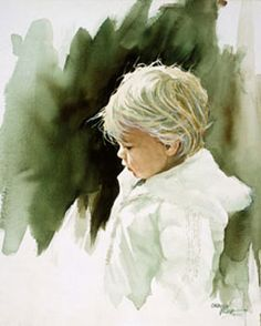 Carolyn Blish. Watercolor