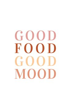 Good food good mood printable wall art, foodie quote, gift for food lover, terracotta color palette, self care printable gift for a friend Foodie Quotes, Food Lover Quotes, Gift Quotes, Funny Quotes, Korean Chicken, Korean Beef, Image Deco, Baking Quotes, Selfie Captions