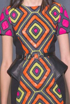 patternprints journal: PRINTS, PATTERNS, TRIMMINGS AND SURFACE EFFECTS FROM PARIS FASHION WEEK (A/W 14/15 WOMENSWEAR) / 1