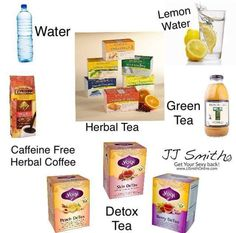 Here are some of JJ favorite drinks on a 30 day green smoothie challenge.