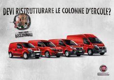 E' live la nuova campagna Fiat Professional. Protagonista Diego Abatantuono, da sei anni accanto al brand
