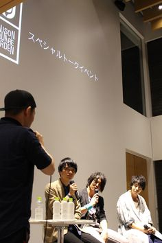 【イベント情報】8月31日(水)代官山T-SITEにて、UNISON SQUARE GARDENトークイベントを開催!MV監督を招いてのアルバム制作秘話や、メンバー私物プレゼント企画など、集まった約100名のファンの皆さんも大興奮!