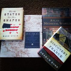 Regional reads - a selection of my favorite geography books // Quirky Bookworm: #DailyBookPic Catch-Up