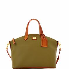 This Dooney & Burke bag - Eva Satchel - in yellow and red and orange....they call me. orange and yellow especially. I dunno why.