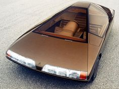 neontalk:  Citroën Karin. 1980 Design by Trevor Fiore
