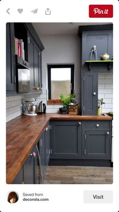 Two toned cabinets. Valspar Cabinet Enamel from Lowes = Successful on