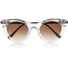 Thierry Lasry Perky cat-eye acetate sunglasses ($505) ❤ liked on Polyvore