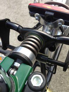 Brompton folding bike custom suspension block Kamoya Jenny sus