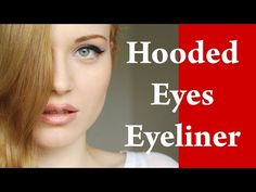 How to apply EYELINER on HOODED eyes / DROOPY eyes / ROUND and DOWNTURNED eyes : Makeup Tutorial - YouTube