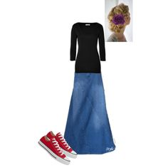 """""""Modest Outfit 13"""" by christianmodesty on Polyvore"""