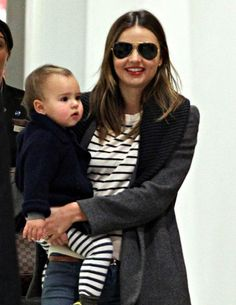 Bellyitch: Where are they now? 25 celebs we watched in the past, today with their kids    Miranda Kerr and son Flynn arrive at Sydney Airport and where met by Miranda's mother Therese and grandmother Ann mid May