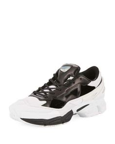 on sale 6fa18 14f62 adidas by Raf Simons Mens Replicant Ozweego Trainer Sneakers