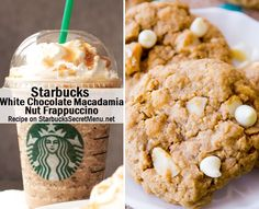 Starbucks White Chocolate Macadamia Nut Frappuccino