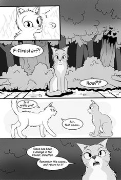 Cloudtail Comic | Warrior Cats