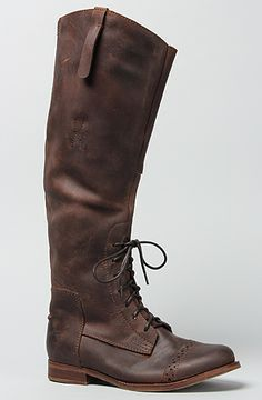 The Ridem Boot in Brown by Jeffrey Campbell