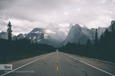 roads worth driving. - Pinned by Mak Khalaf Landscapes banffcanadaroadroadshot by pangeaproductions